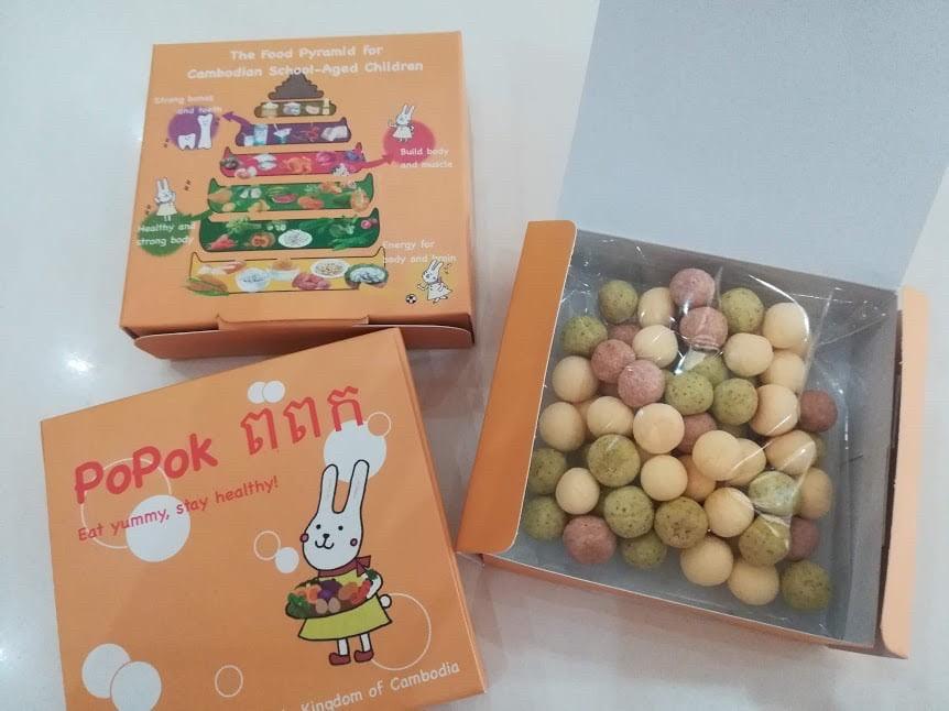 NOM POPOKの事業お菓子画像2