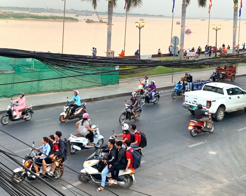 カンボジアの人々の生活