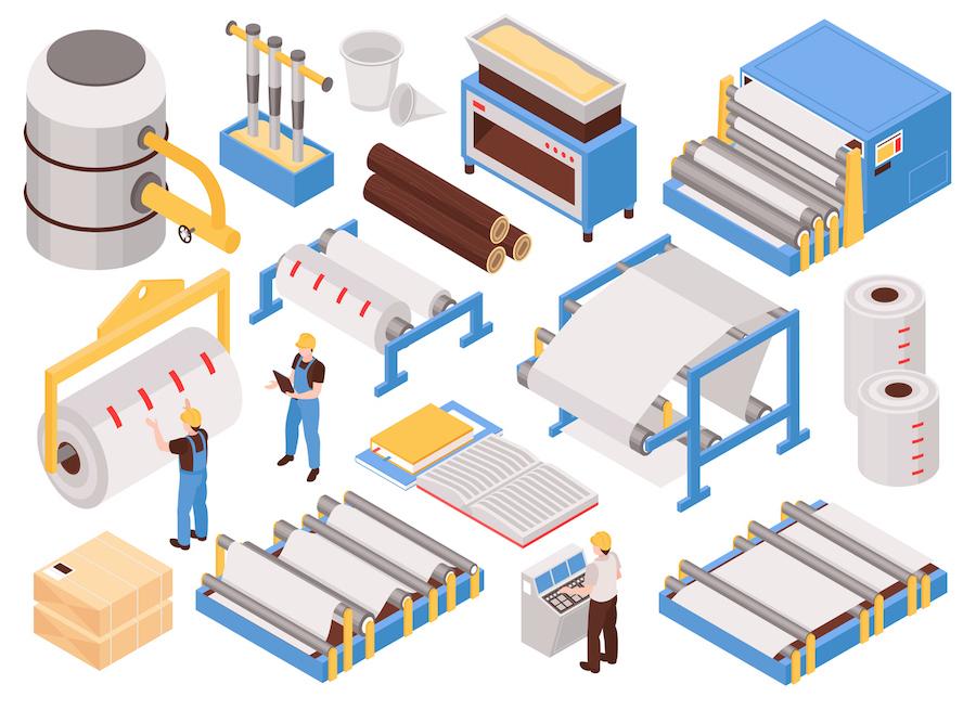 春日製紙工業が貢献するSDGs紹介用画像