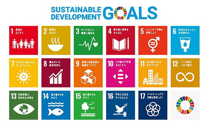 SDGs(持続可能な開発目標)17目標と169ターゲットの詳細解説の画像