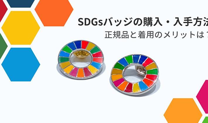 SDGsバッジの購入・入手方法|正規品はあるの?付けるメリットは?の画像