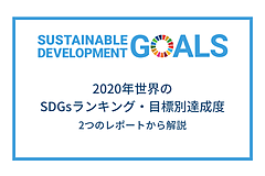 2020年世界のSDGs達成度ランキング|目標ごとの成果と課題の画像