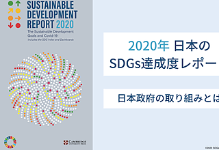 2020年日本のSDGs達成度は17位|日本政府の取り組みを解説のイメージ
