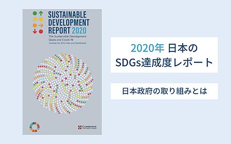2020年日本のSDGs達成度は17位|日本政府の取り組みを解説の画像